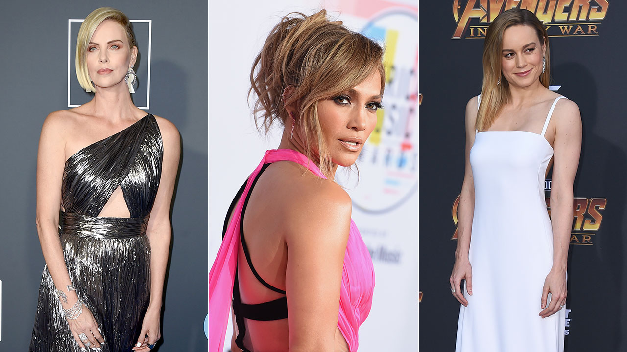 Charlize Theron, Jennifer Lopez and Brie Larson are among the celebrities who will present awards at the Oscars this year.