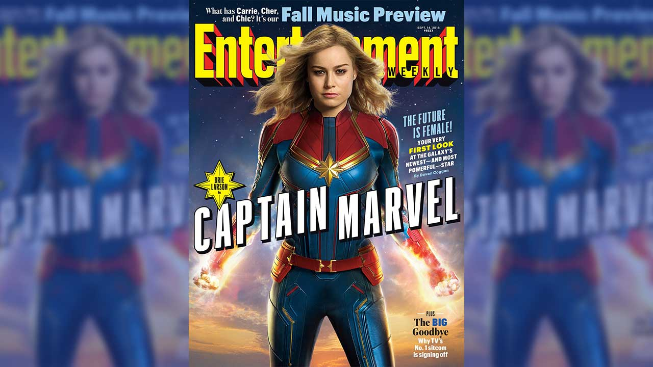 New images of 'Captain Marvel' show Brie Larson in costume