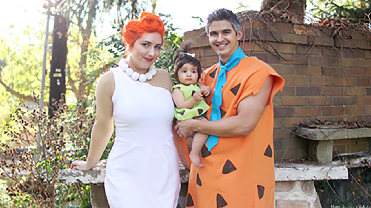 These DIY Flintstones costumes will have you looking like you're straight out of Bedrock