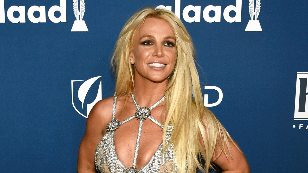 In this April 12, 2018 file photo, Britney Spears arrives at the 29th annual GLAAD Media Awards in Beverly Hills, Calif.