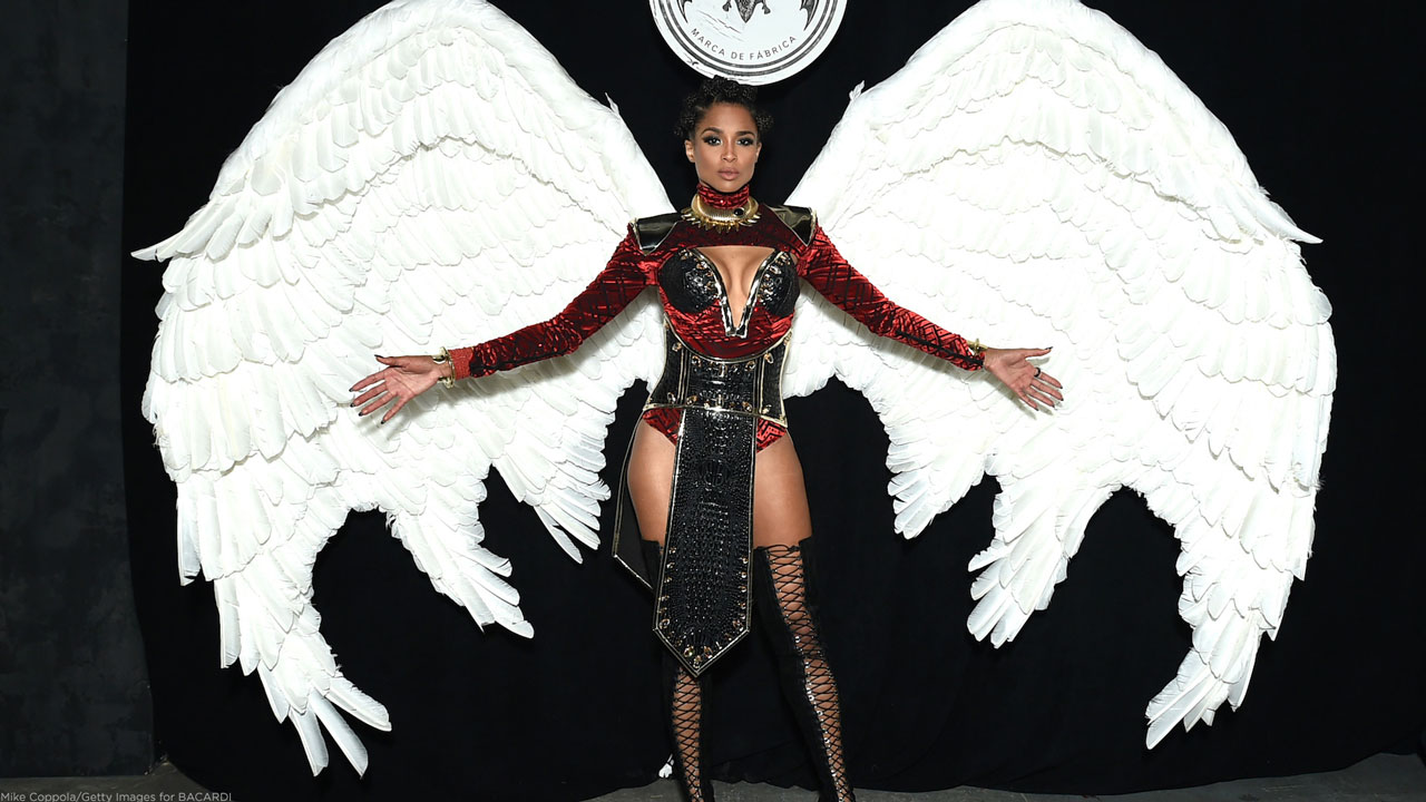 Singer, dancer Ciara attends as BACARDI presents Liberate Your Spirits With Ciara For Halloween on October 30, 2018, in New York City.