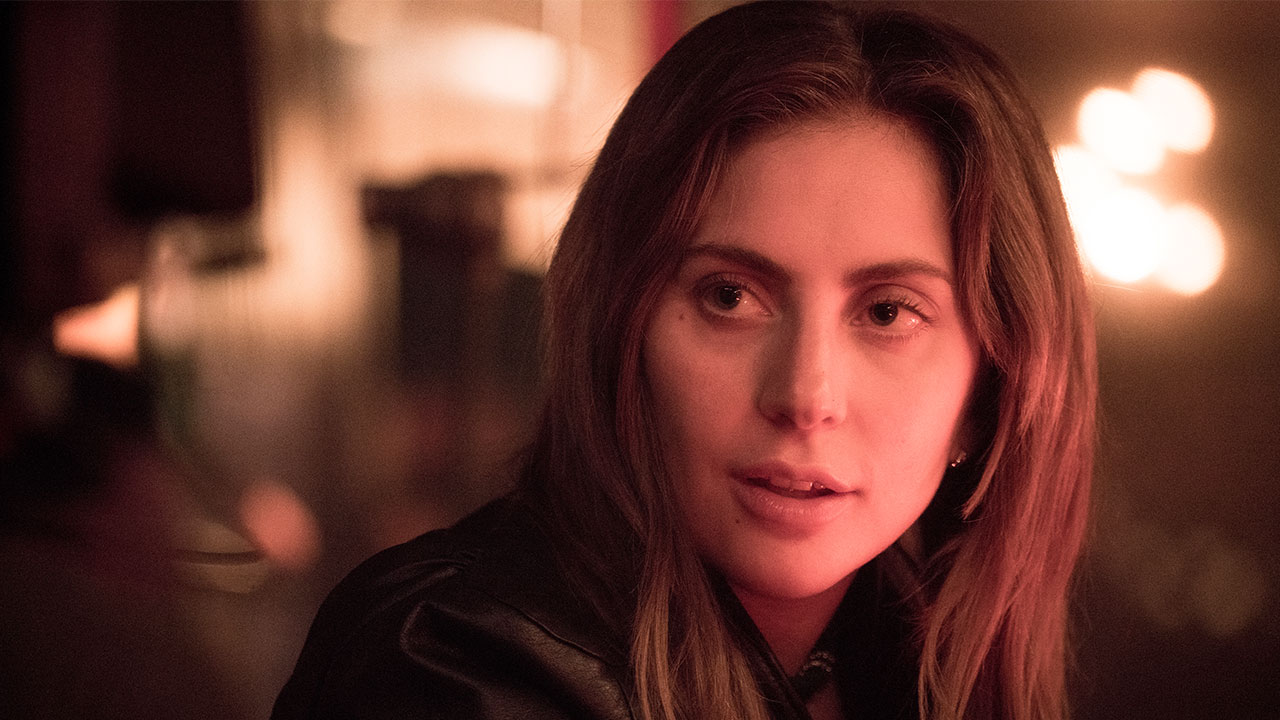 This image released by Warner Bros. shows Lady Gaga in a scene from the latest reboot of the film, A Star is Born.