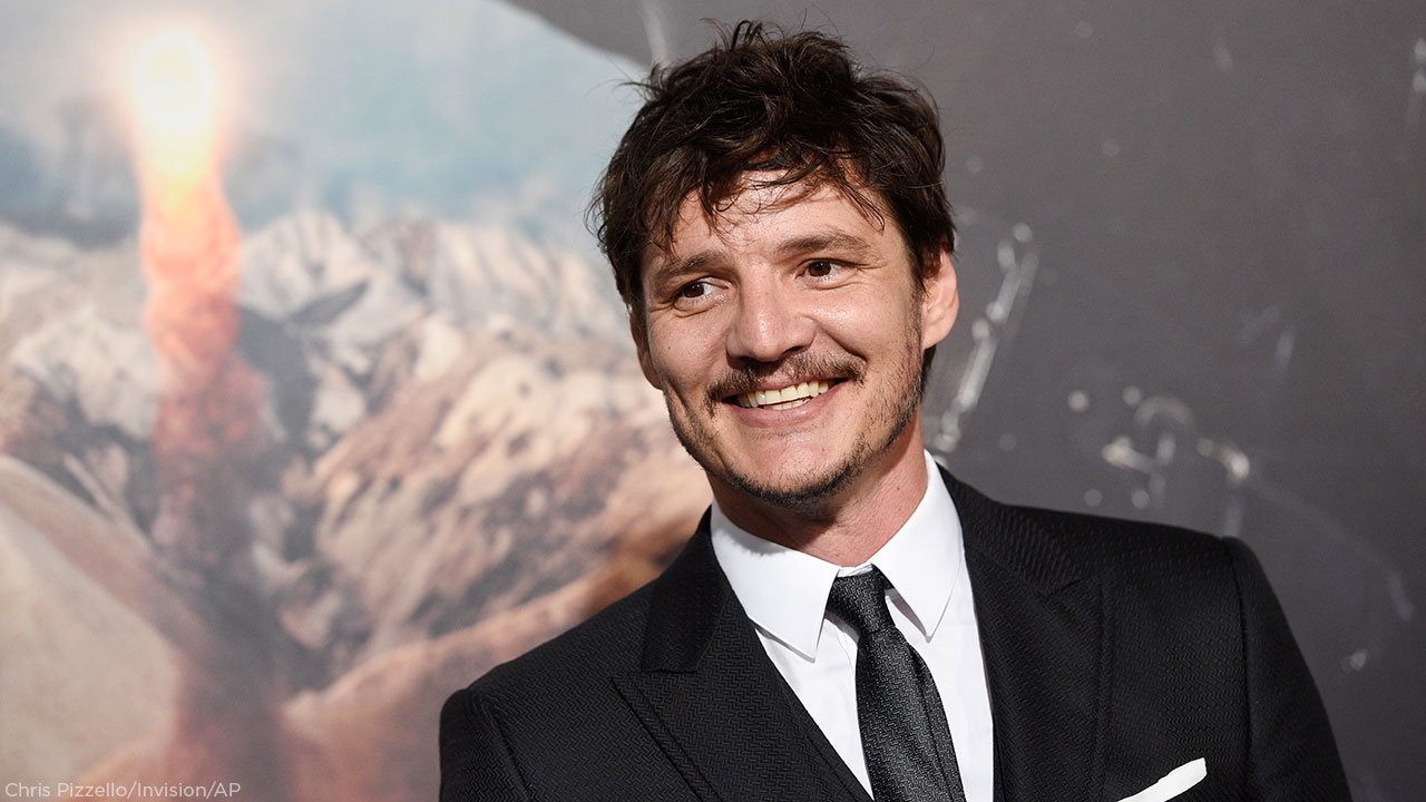 Pedro Pascal, a cast member in The Great Wall, poses at the premiere of the film at the TCL Chinese Theatre on Wednesday, Feb. 15, 2017, in Los Angeles.