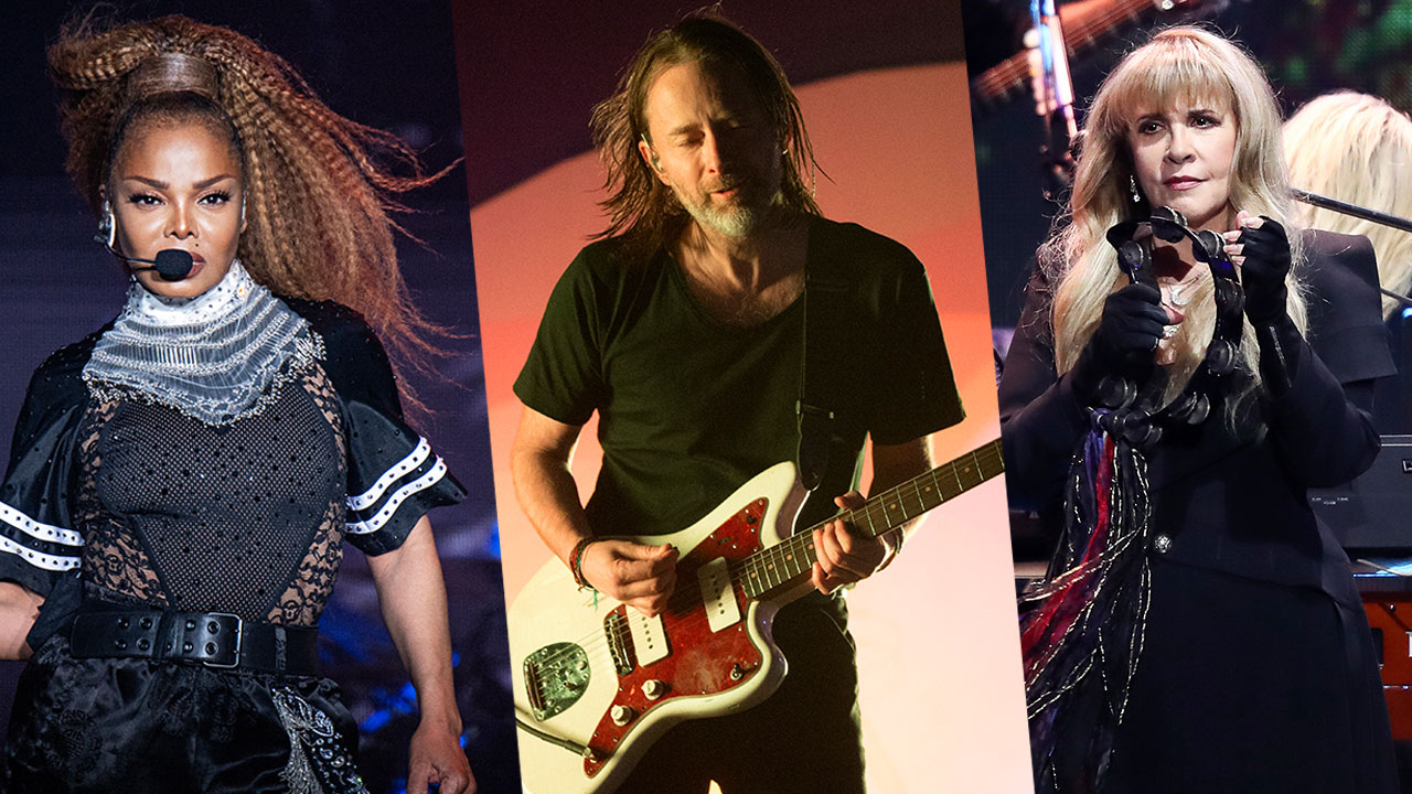 Rock and Roll Hall of Fame inductees 2019 include Janet Jackson, Stevie Nicks, Radiohead