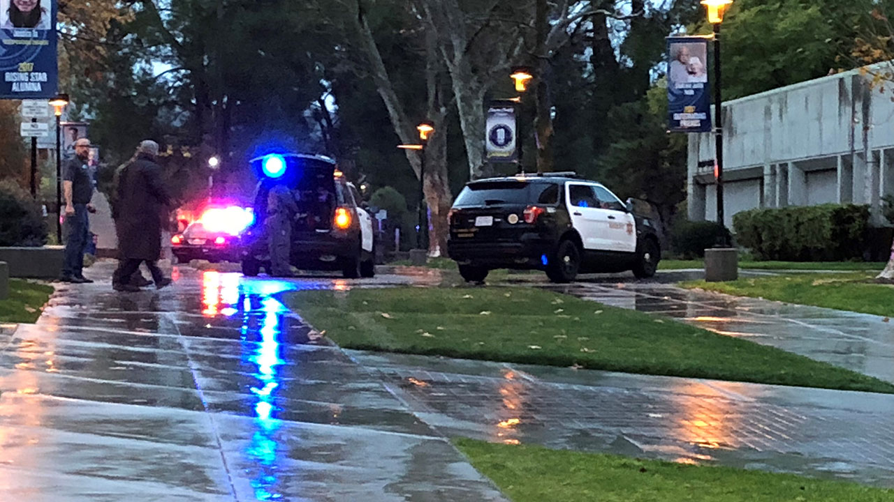 College of the Canyons in Santa Clarita was placed on lockdown as authorities investigated a report of a person with a rifle on campus.