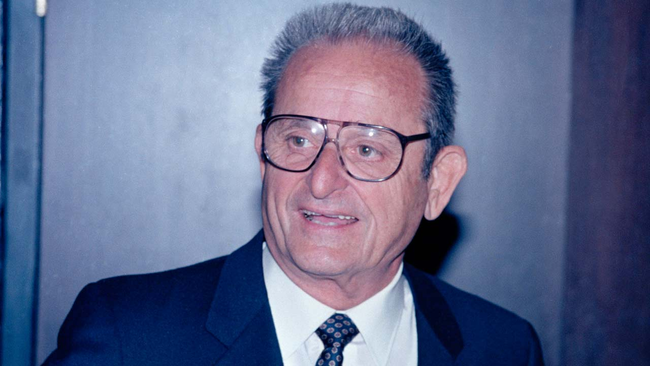 Alex Spanos, owner of the San Diego Chargers, is pictured in 1986.