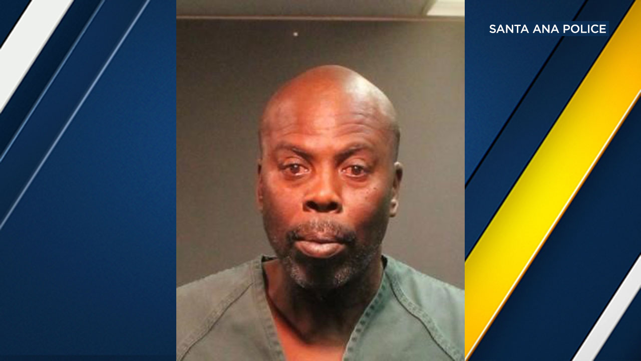 Milton Louis Mayfield, 55, has been booked on suspicion of murder after a woman was found dead in a Santa Ana motel room.
