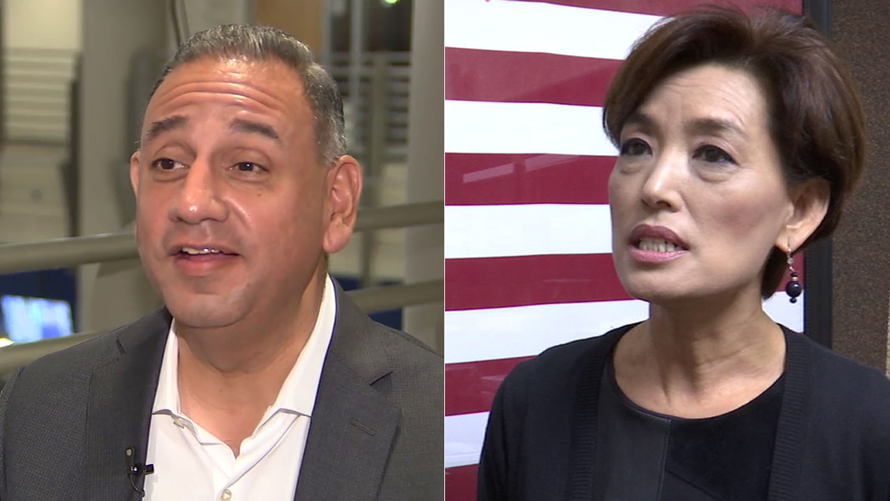 Democrat Gil Cisneros and Republican Young Kim are seeking the 39th District congressional seat in Orange County.