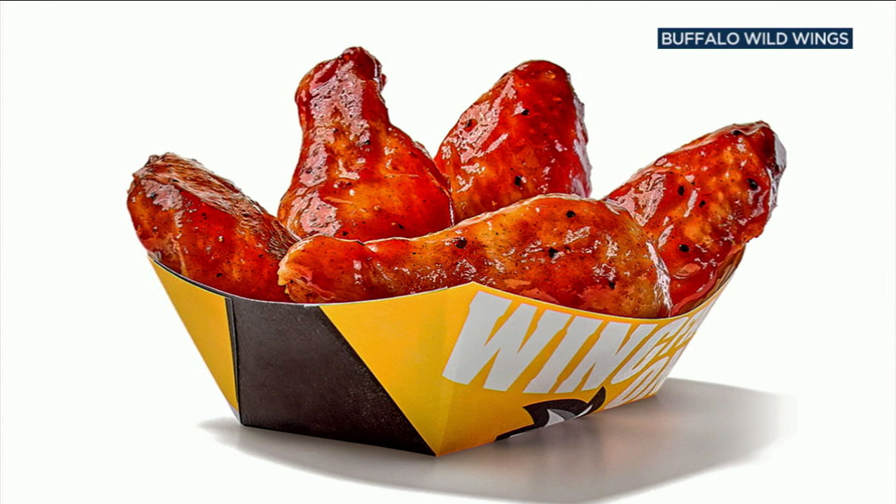 Buffalo Wild Wings has introduced BBQ Pumpkin Ale sauce to accompany the restaurants wings.