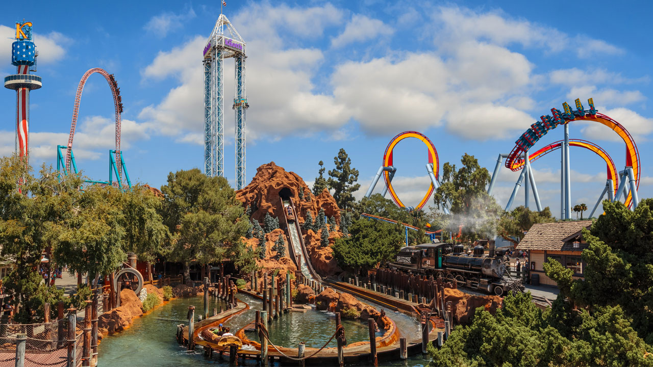 Knotts Berry Farm is shown in a file photo.
