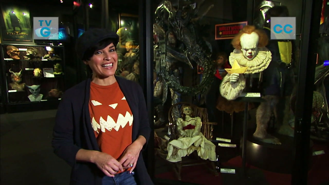 From scary-movie prop displays to the Magic Castle, Tina Malave and Eye on L.A. take us for a tour of the best LA Halloween experiences.