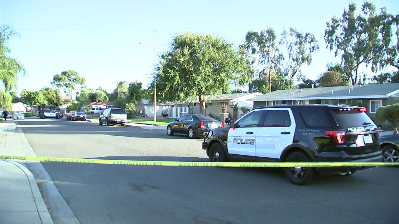 A 10-year-old boy was shot in an apparent drive-by targeting another person in Pomona, police said.