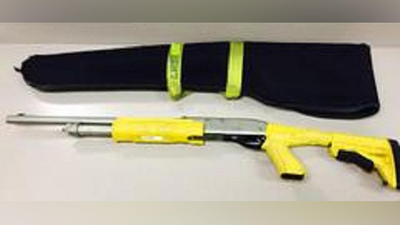 Los Angeles County sheriffs deputies are asking for the publics help to help locate a missing stun bag shotgun.