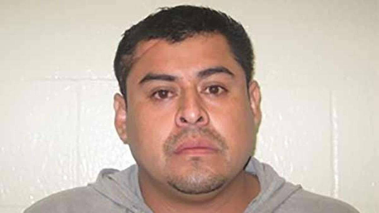 Arcadio Varela Caliz, 31, was arrested on two counts of murder at the Azusa Police Department on Tuesday, Oct. 6, 2015.