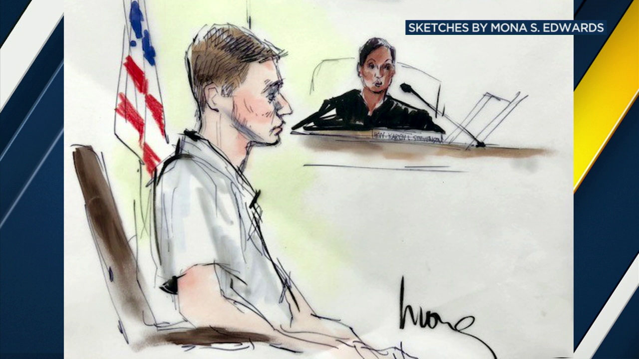 Robert Rundo sits in court during a hearing on Wednesday, Oct. 24, 2018.