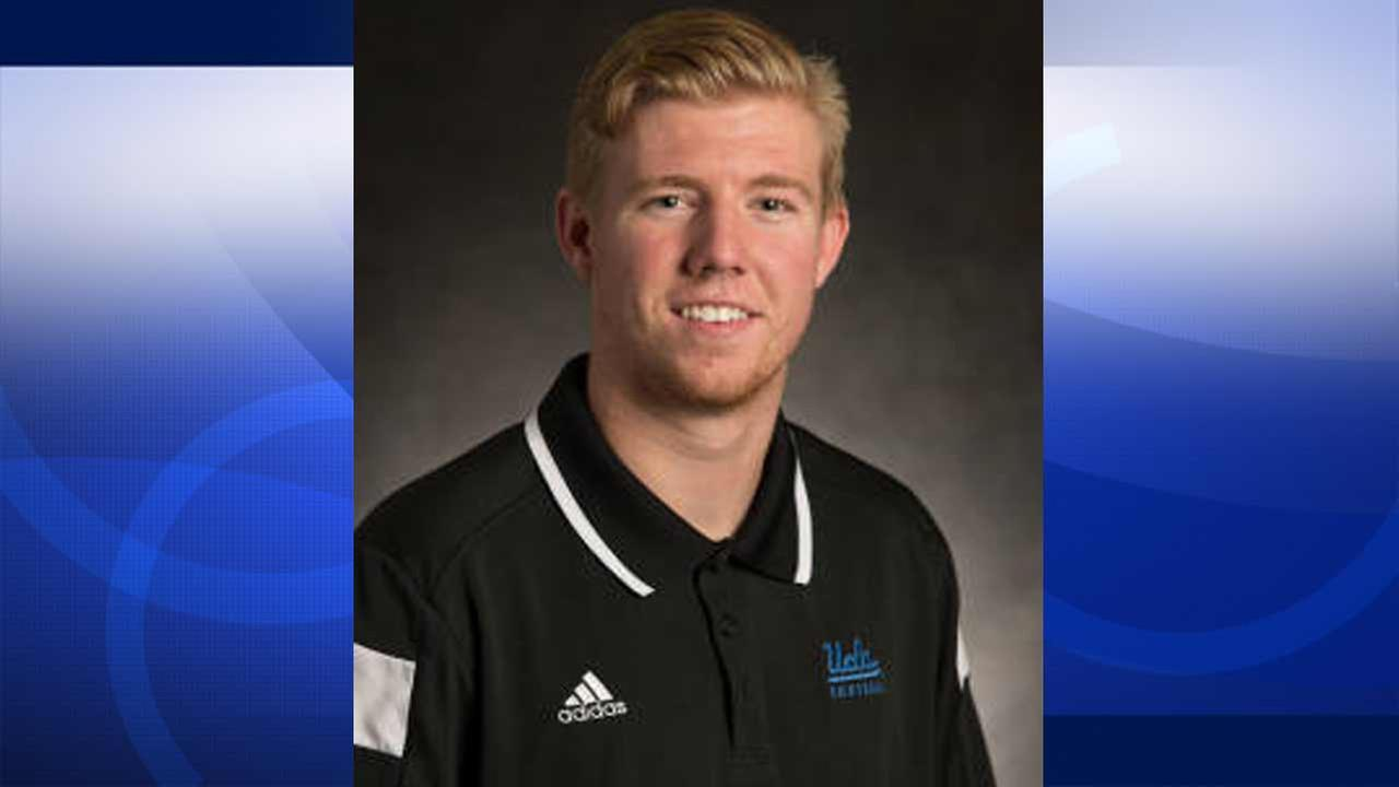 UCLA punter Adam Searl, 20, was arrested on suspicion of rape on Thursday, Oct. 8, 2015.