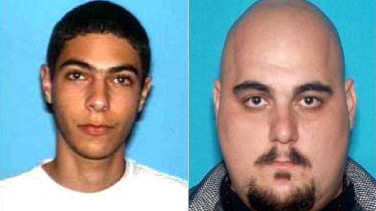 Aram Manasaryan, 22, of Glendale is seen left. Edvard Martirosyan, 27, is seen right.