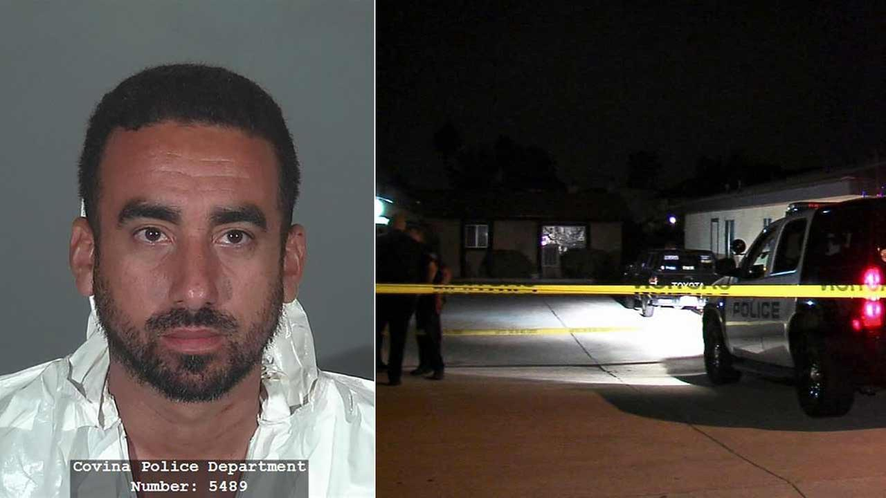 Raymond Guerra, 35, of Covina allegedly shot his wife in the face during a domestic dispute at a residence in the 1100 block of N. Citrus Avenue on Tuesday, Oct. 13, 2015.