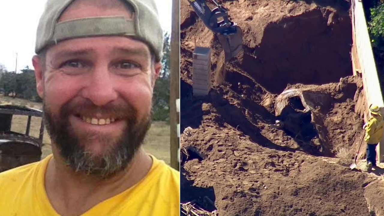 Robert Michael Rasmussens body was found in a vehicle buried in six feet of mud in Palmdale on Tuesday, Oct. 20, 2015.