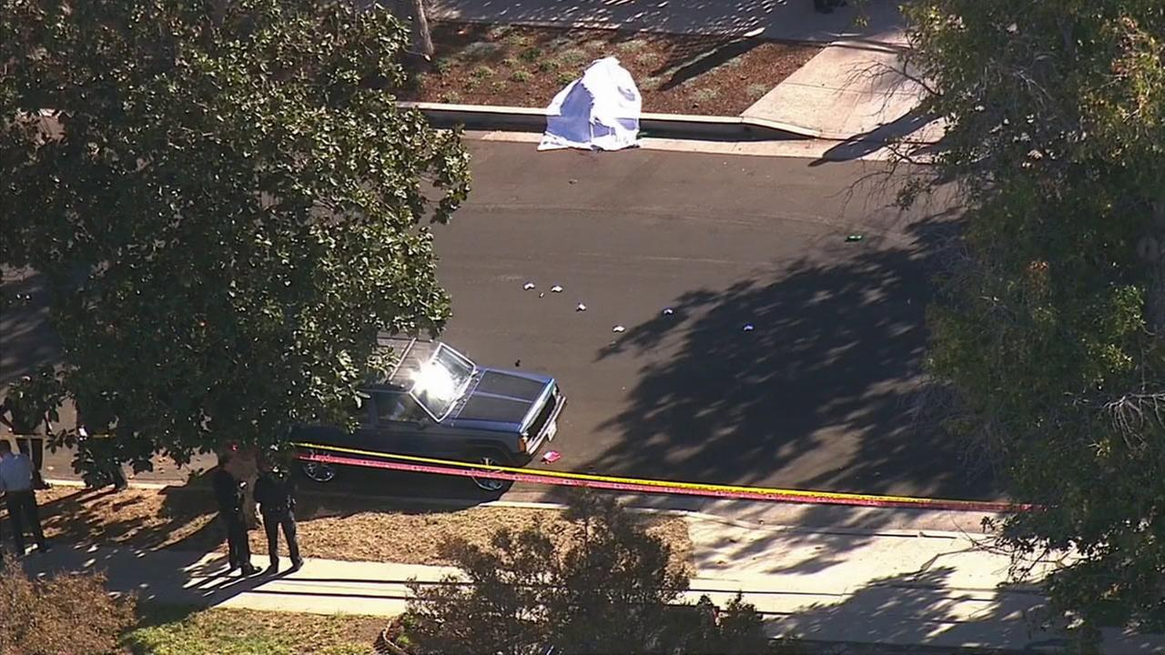 A suspect was killed in an officer-involved shooting on Monday, Nov. 9, 2015, LAPD said.
