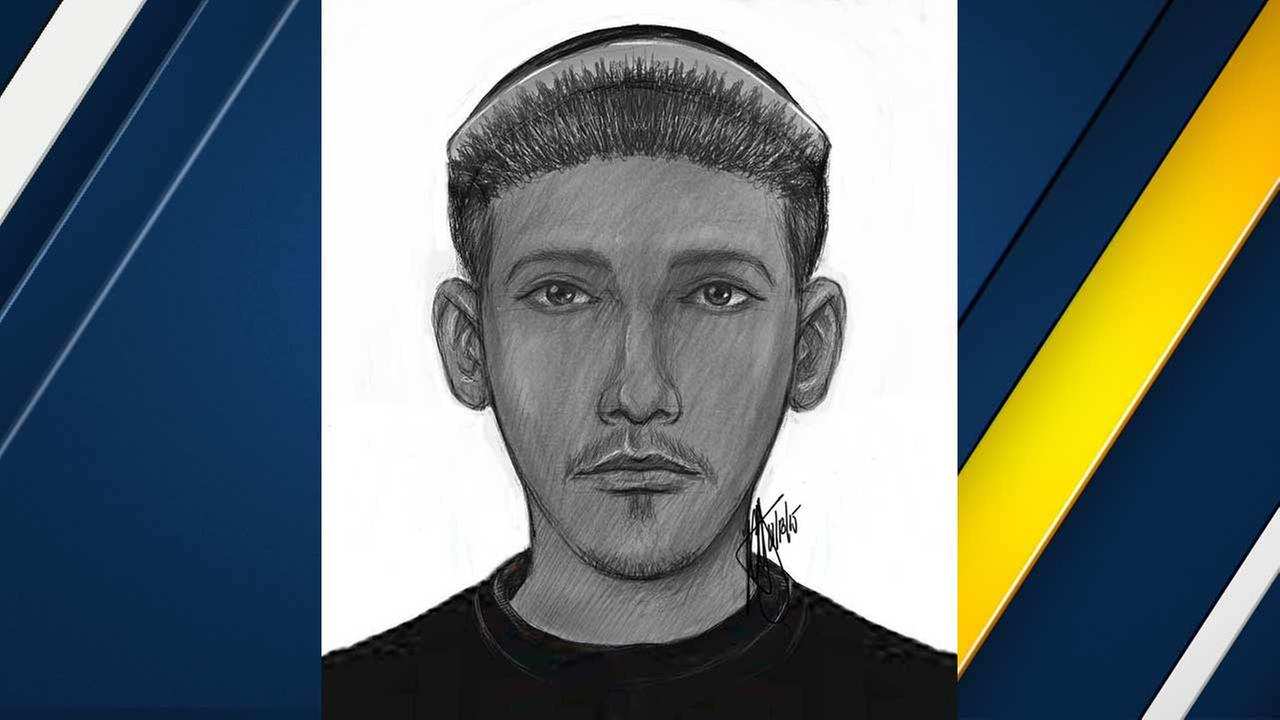 The Riverside Police Department released a composite sketch of a male burglar who allegedly entered a young girls bedroom on Saturday, Nov. 14, 2015.
