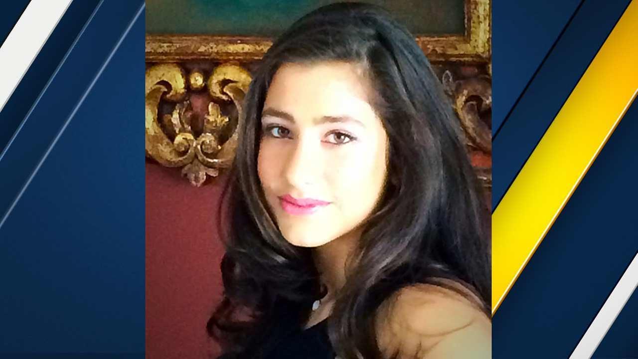 Nikki Valdez, 14, died Monday, Nov. 16, 2015 after collapsing during basketball practice at Notre Dame High School in Sherman Oaks.