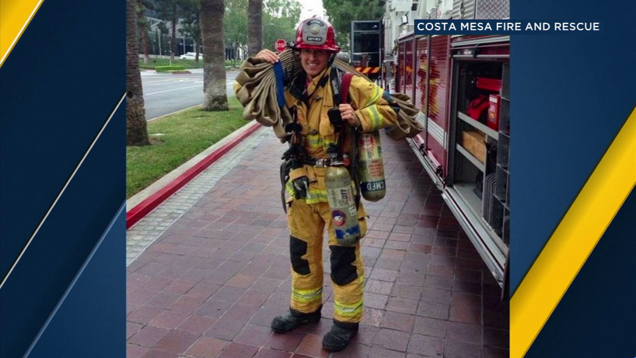 Captain Mike Kreza is an 18-year veteran of Costa Mesa Fire and Rescue.