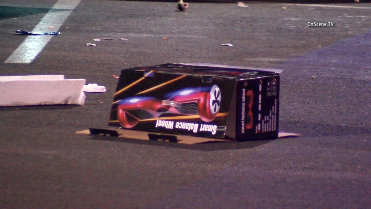 A man who was ambushed by would-be robbers while trying to sell hoverboards in Bellflower shot at the suspects, wounding one of them on Sunday, Nov. 29, 2015.