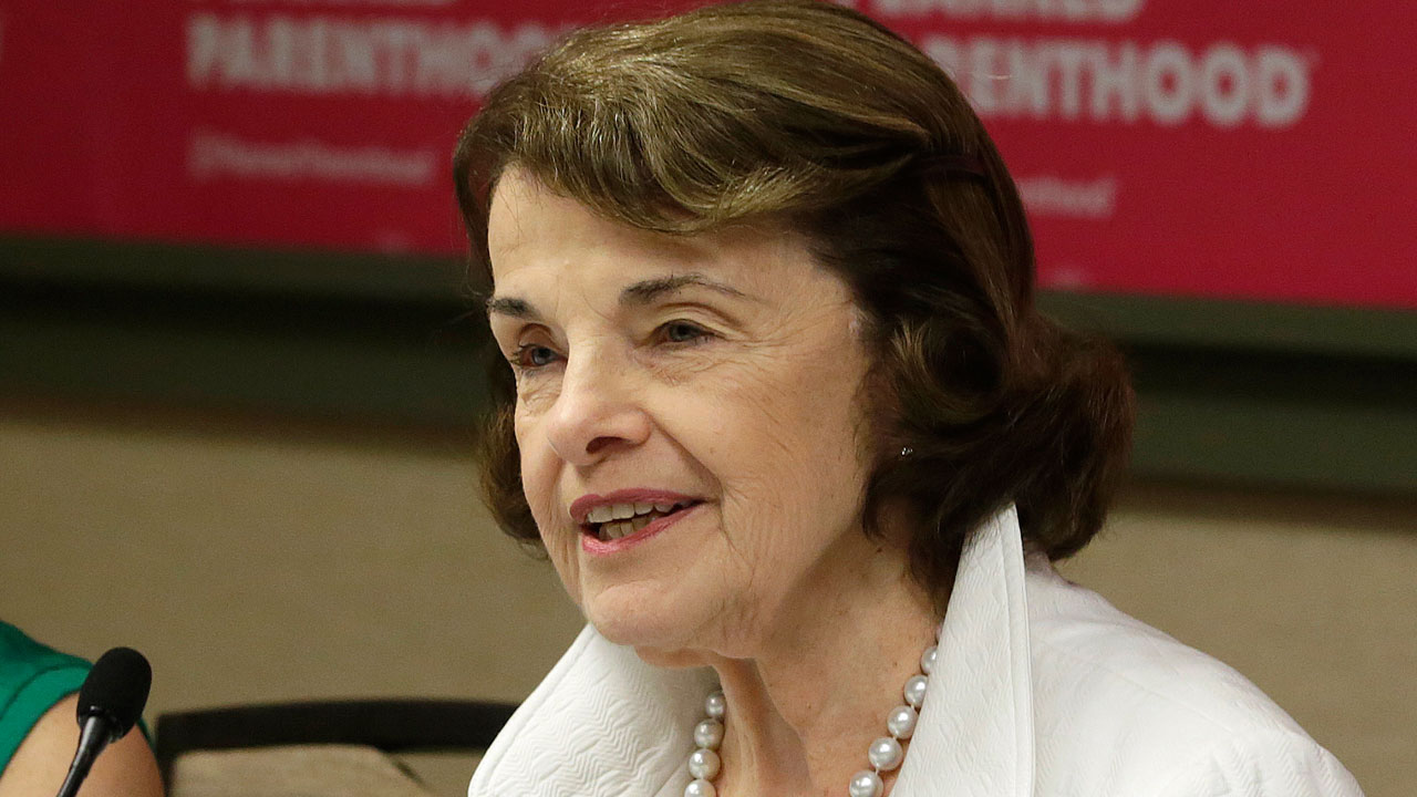 In this Thursday, May 31, 2018, file photo is U.S. Sen. Dianne Feinstein in Sacramento, Calif.