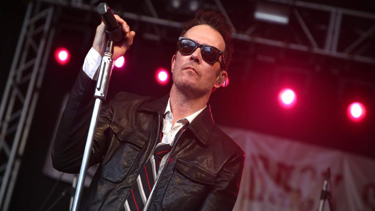 Scott Weiland and the Wildabouts perform at the Rachael Ray Feedback Party at Stubbs during South By Southwest on Saturday, March 21, 2015, in Austin, TX.