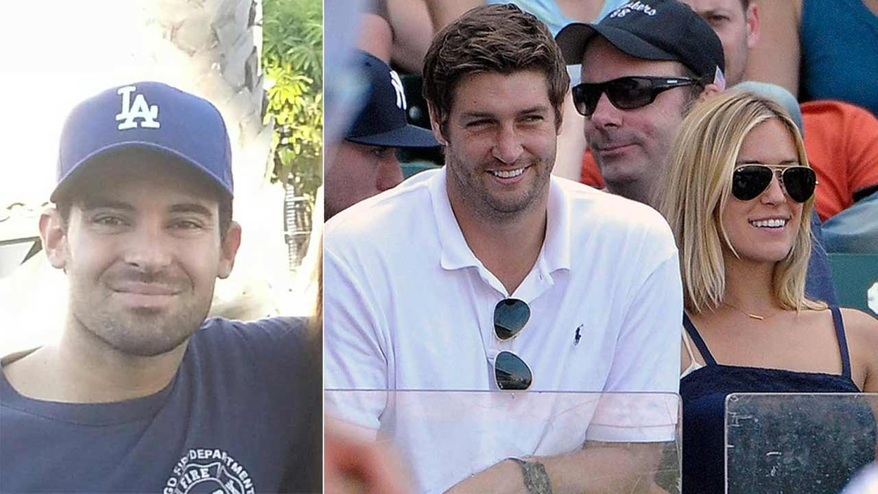Michael Cavallari (left) has been reported missing in Utah. Chicago Bears quarterback Jay Cutler and Kristin Cavallari (right) are seen in this undated file photo.