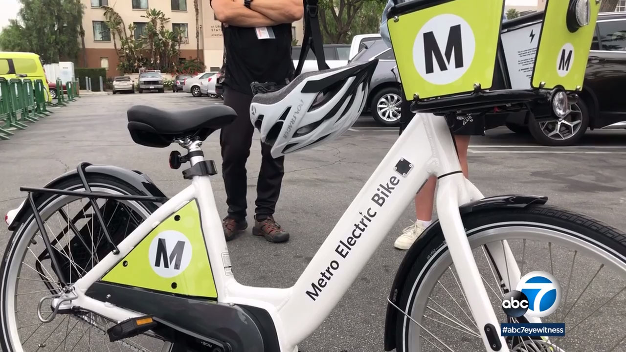 A Metro Electric Bike is pictured.