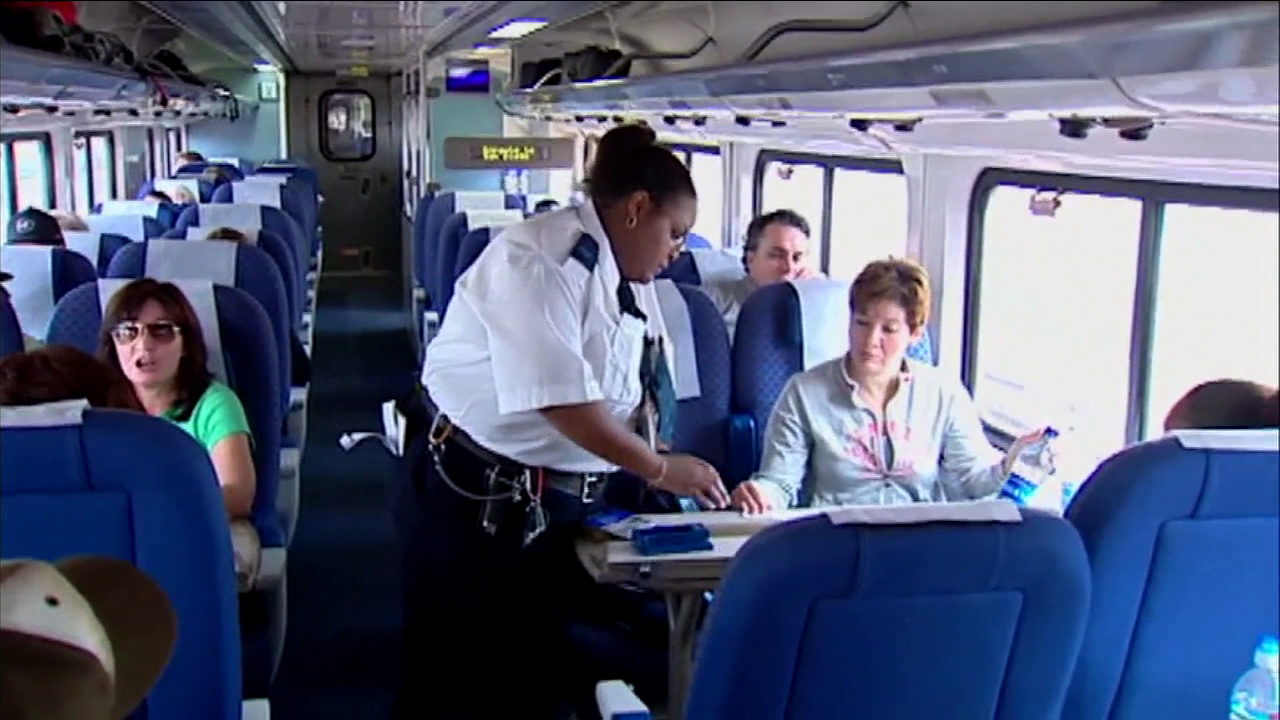 Amtrak is ceasing operations at a Riverside call center and laying off 550 employees.