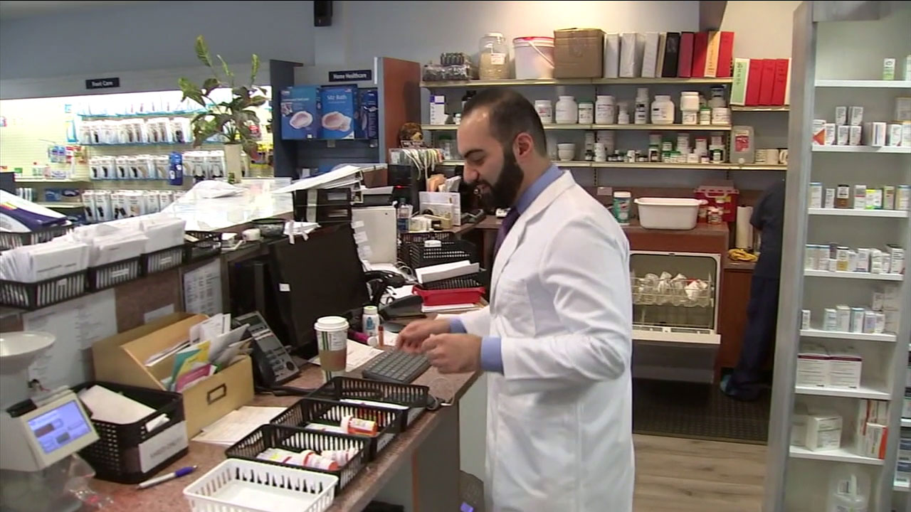 A Newbury Park pharmacy is helping evacuees of Californias fires by delivering their prescription medications they lost access to.