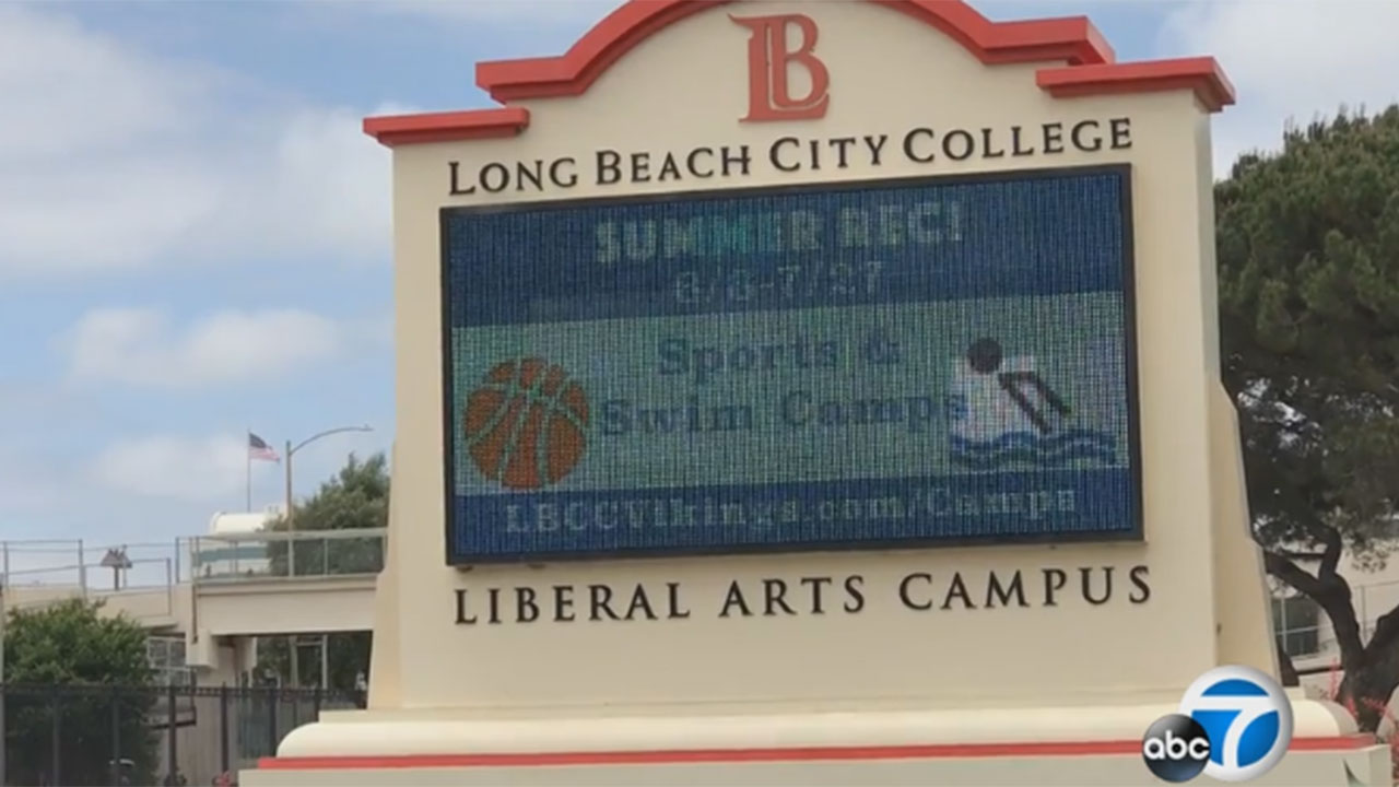 Long Beach City College is pictured in an undated file photo.