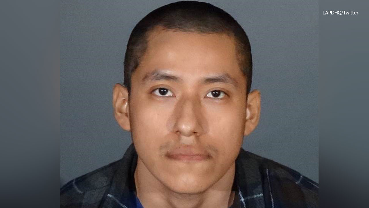 An undated photo of Andres Pascual, 22, arrested in connection with a sexual assault in Echo Park.