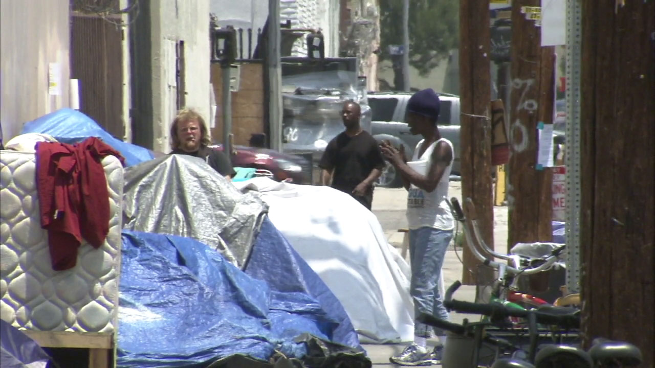 The Los Angeles City Council wants homeless people to be protected under the states hate-crime laws.