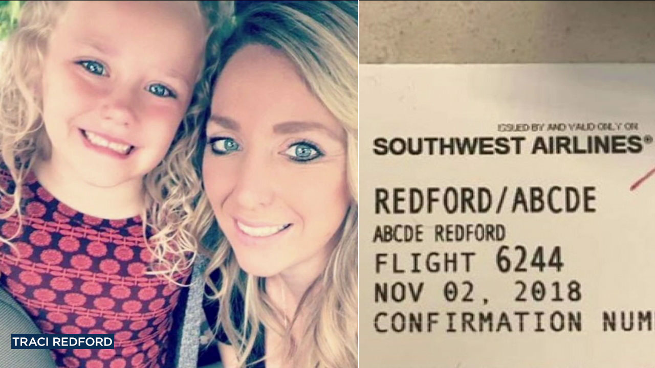 A Southwest Airlines gate agent at Orange Countys John Wayne Airport posted a photo of a boarding pass on social media to mock a 5-year-old girl with a unique name, Abcde.