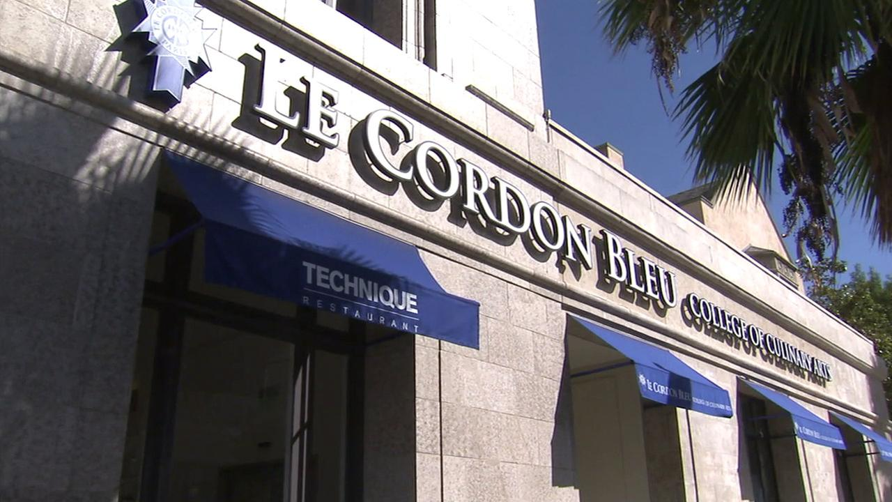 Le Cordon Bleu culinary school in Pasadena is shown in an undated photo.