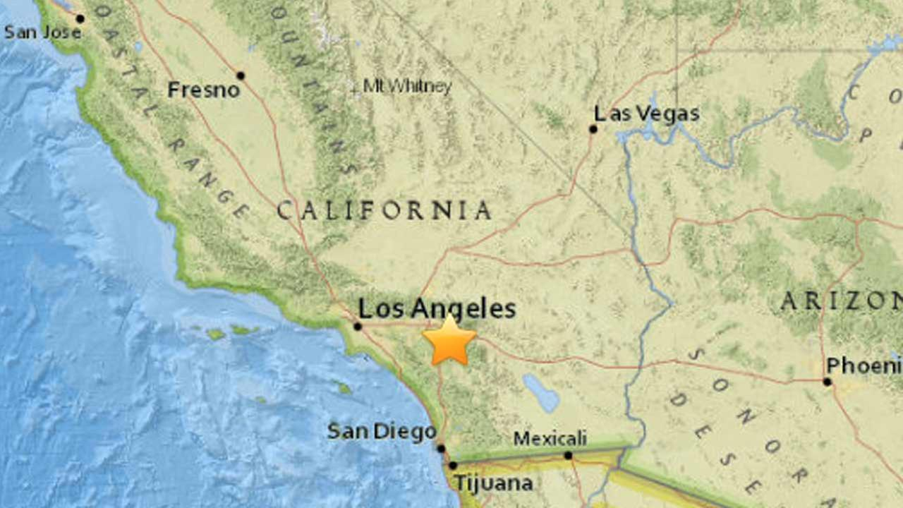 An earthquake with a preliminary magnitude of 3.2 struck 3 miles east of Lakeview, according to the U.S. Geological Survey.