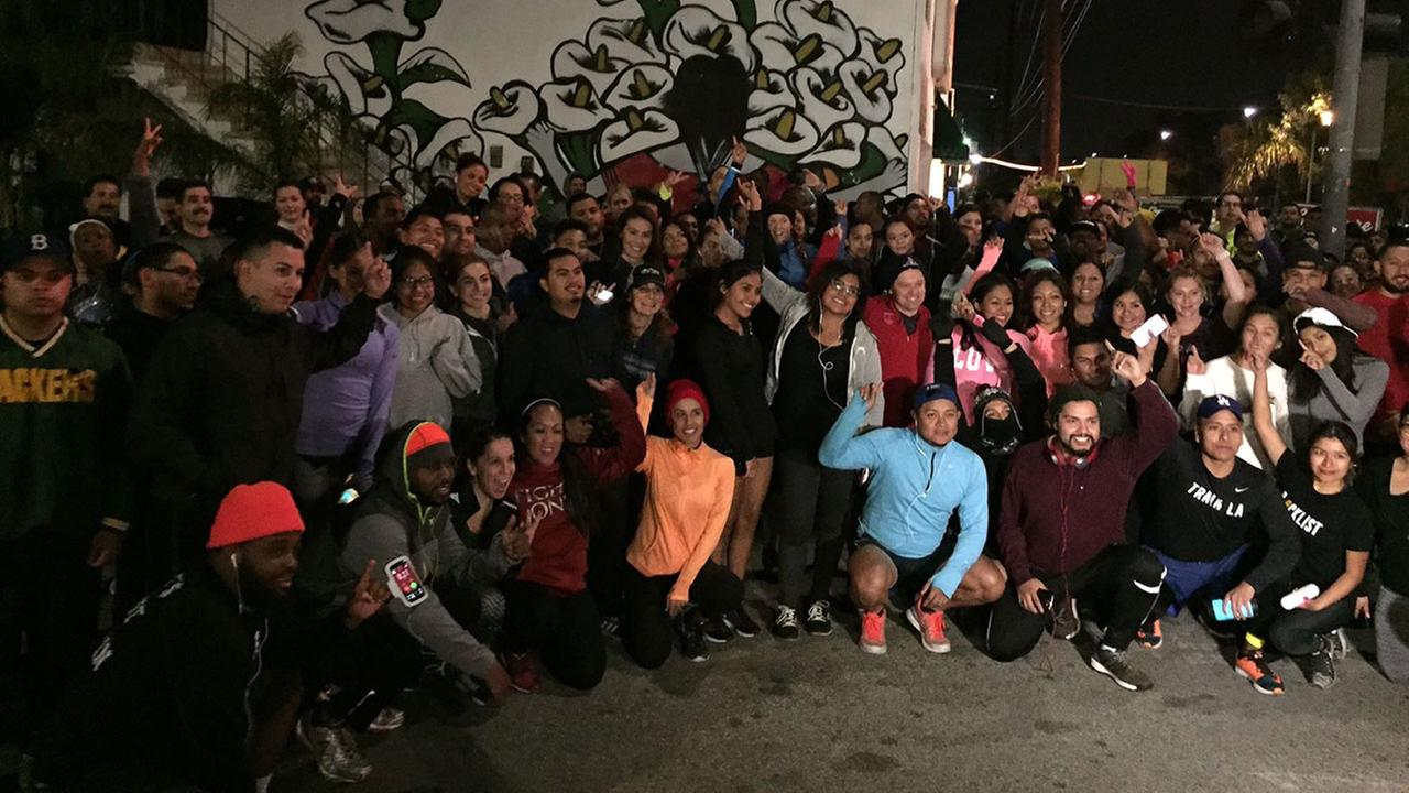 The art of running and the love of Los Angeles are combined as Patricia Lopez runs with Blacklist L.A.
