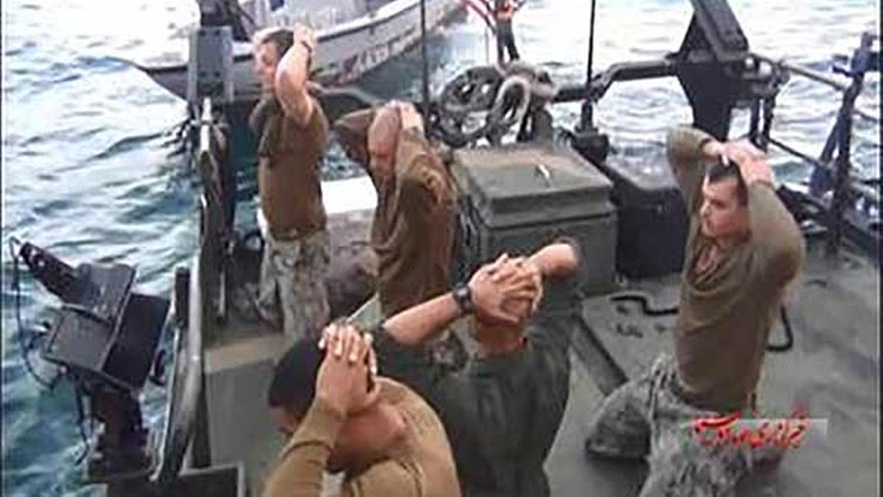 The Iranian Revolutionary Guards boarded the American vessels and captured the sailors Tuesday, Jan. 12, 2016.