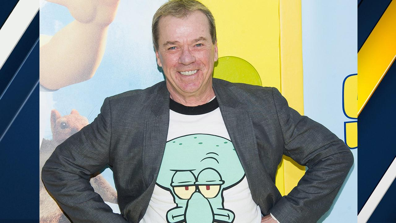Rodger Bumpass attends the world premiere of The Spongebob Movie: Sponge Out Of Water at AMC Lincoln Square on Saturday, Jan. 31, 2015, in New York.