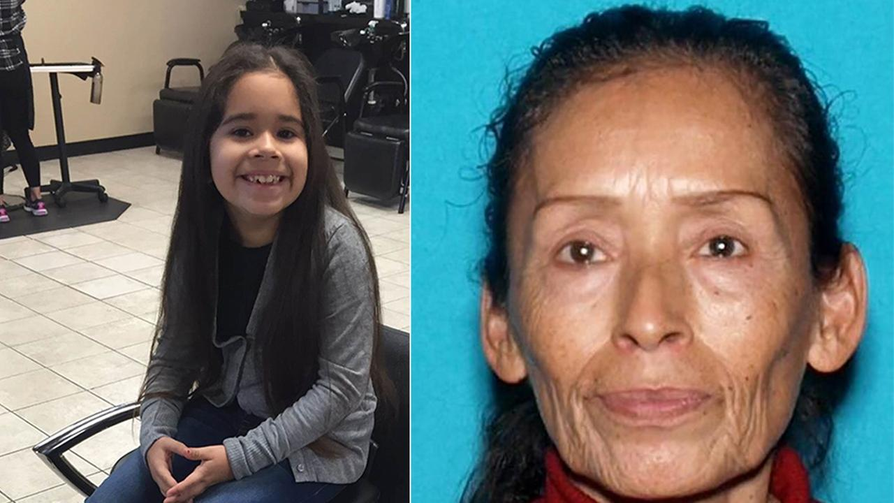 Deputies said Jasmine Felix (left) was reunited with her parents after her grandmother, Teresa Arias (right), kidnapped her from her parents Highland home on Jan. 19, 2016.