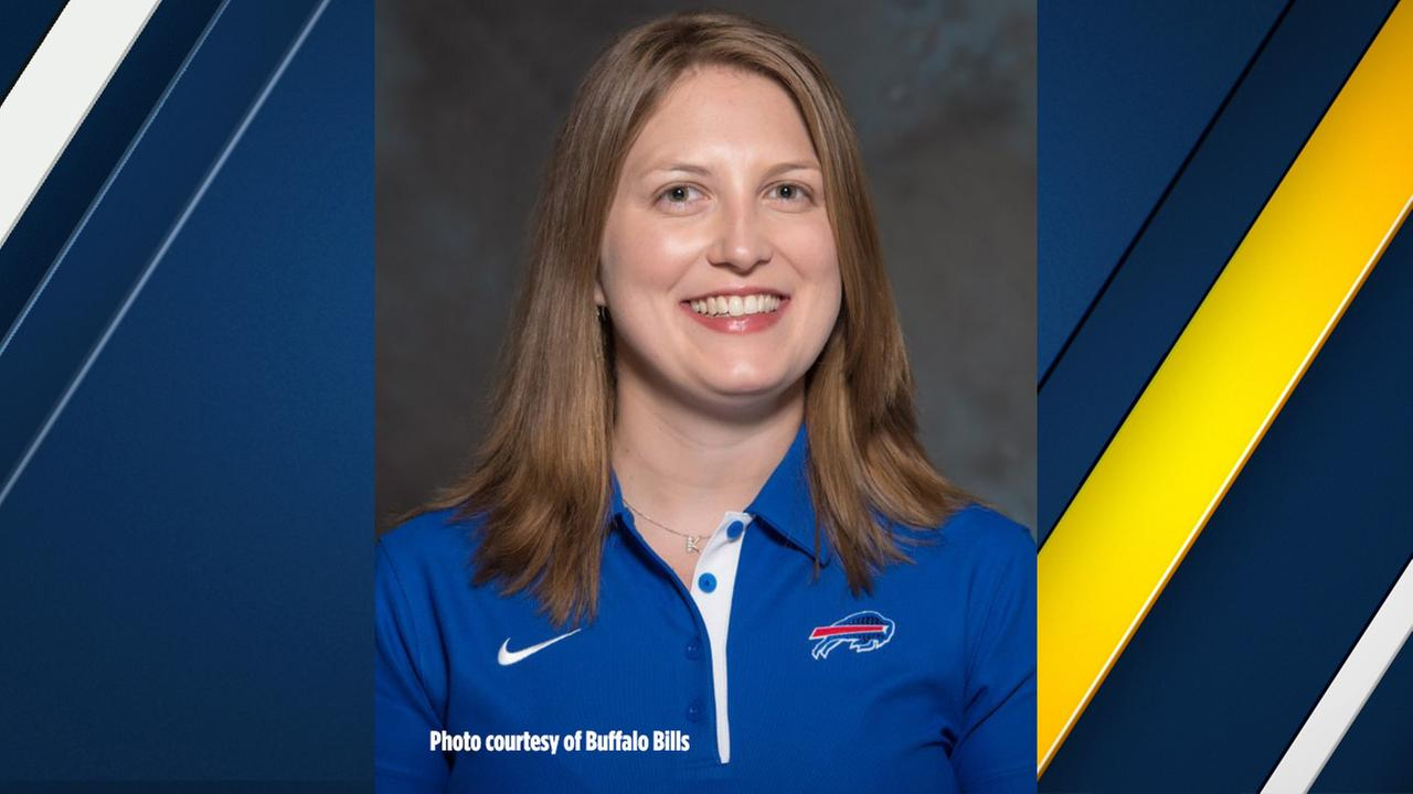 Kathryn Smith was named the Quality Control Special Teams coach for the Buffalo Bills, making her the first full-time female assistant coach in NFL history.