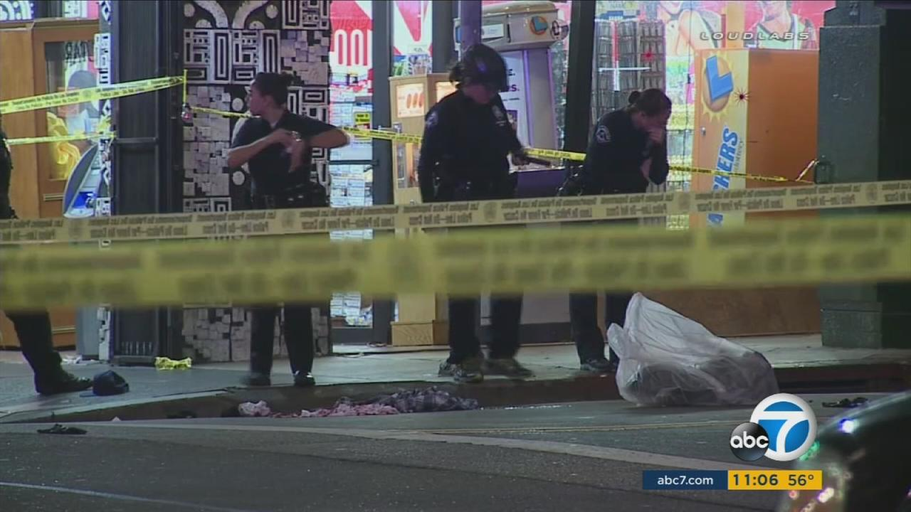 Crimes in Los Angeles rose by more than 12 percent from 2014 to 2015, according to the LAPD.