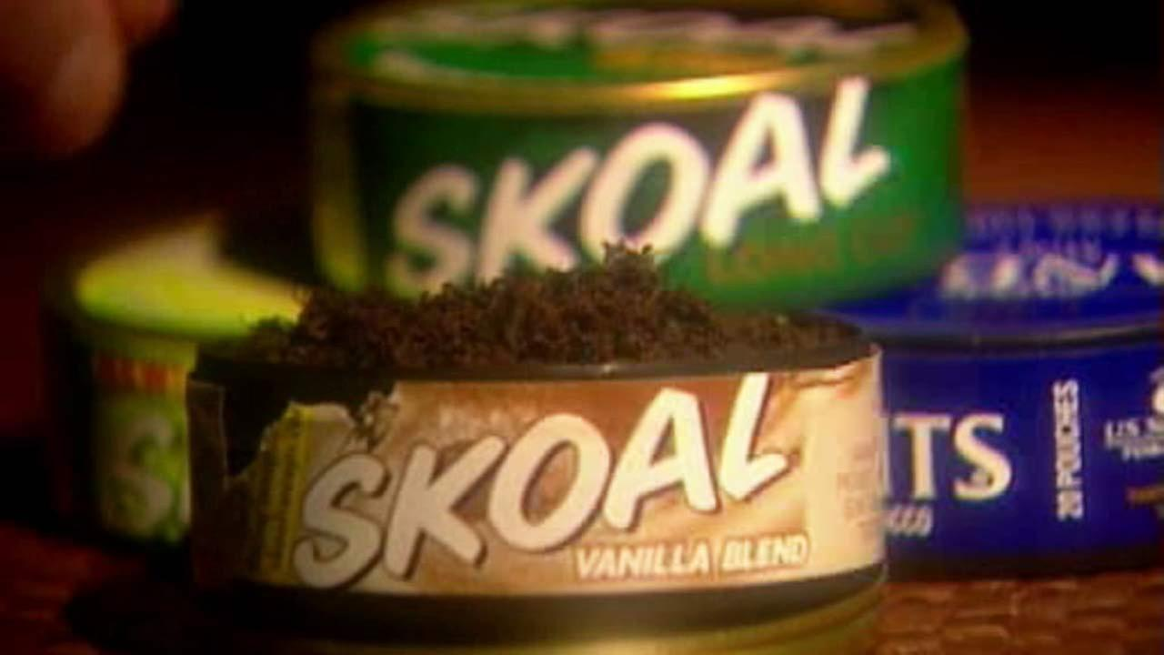 File photo of chewing tobacco.