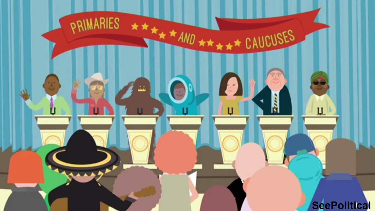 As you probably know, theres a presidential election coming up. Check out this simple refresher to get to speed about primaries and caucuses.