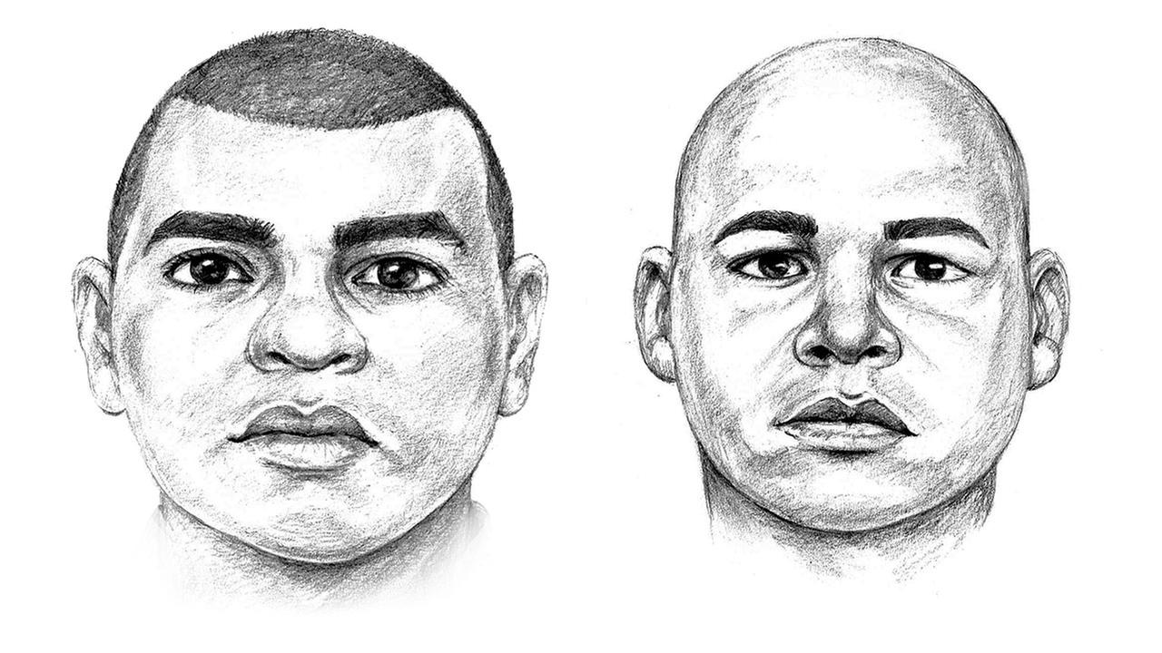 The Santa Ana Police Department released sketches of a man they said is wanted for sexually assaulting women on Sept. 4, 2015, and Jan. 1, 2016.