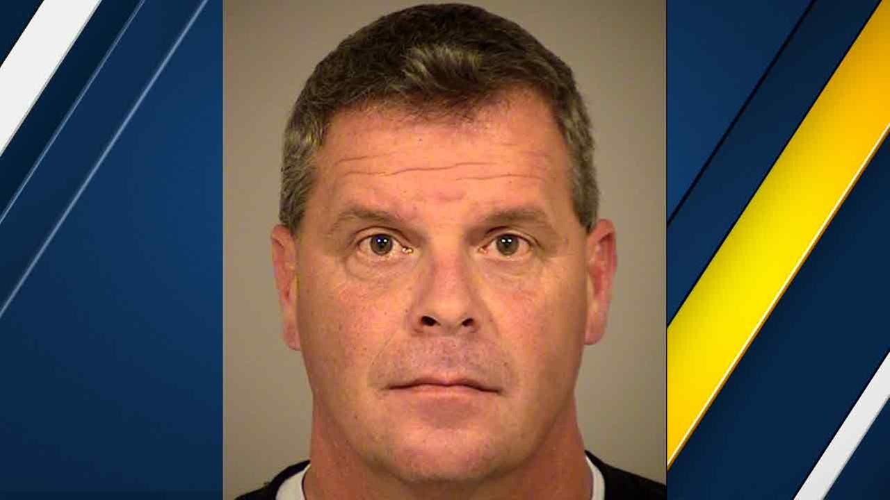 Uber driver Robert Wing, 46, arrested for an alleged DUI while on his way to pick up passengers after watching Super Bowl 50 at a bar in Simi Valley on Sunday, Feb. 8, 2016.